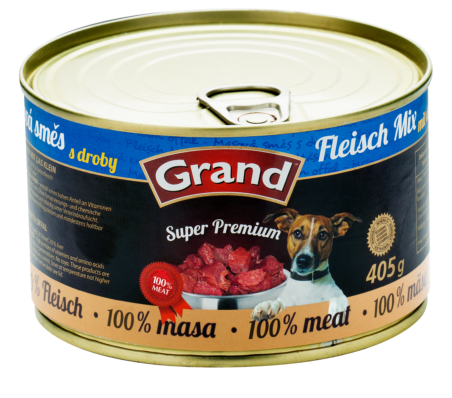 GRAND SuperPremium Masová směs - DOG 405g