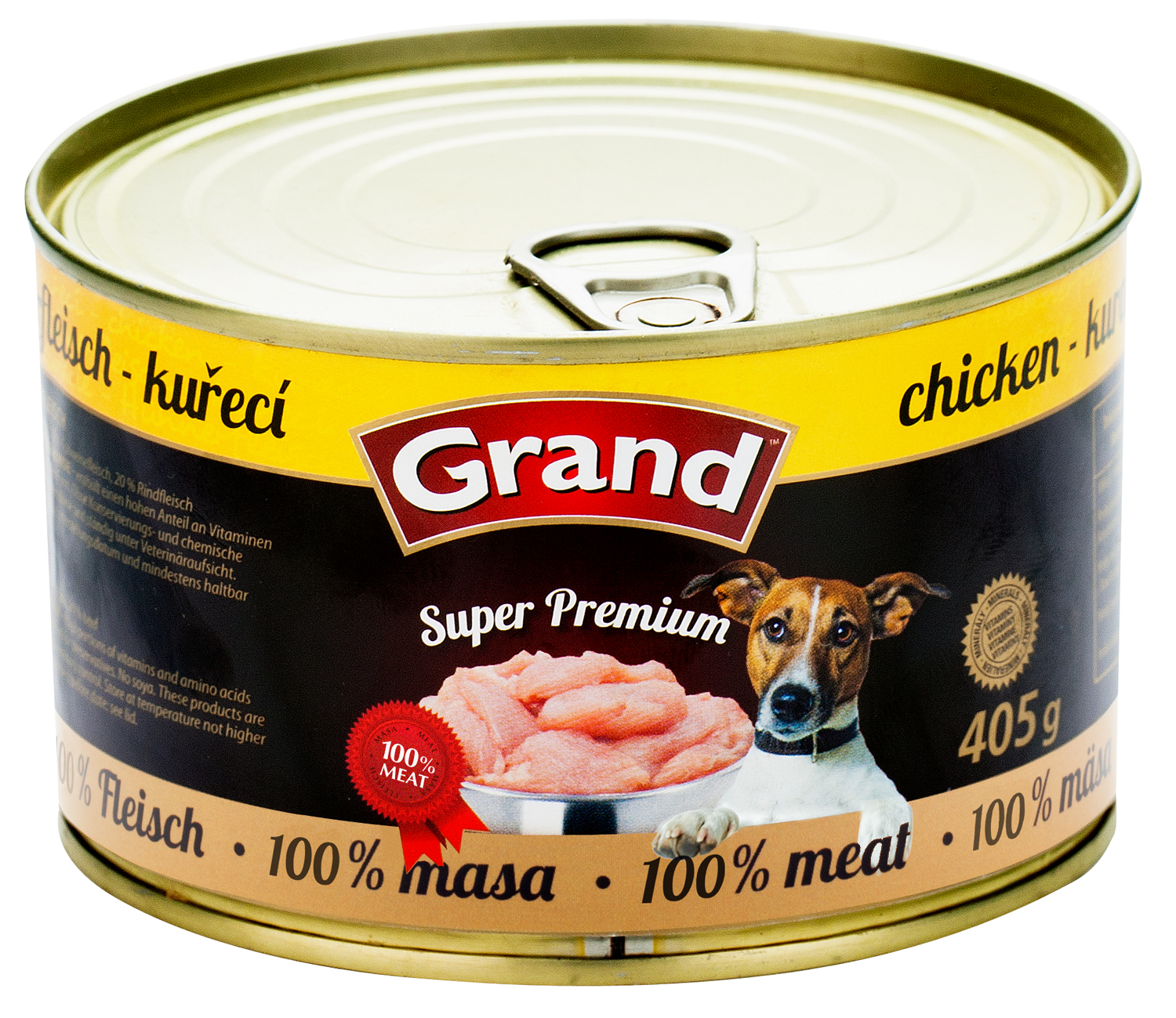 GRAND SuperPremium Kuřecí - DOG 405g